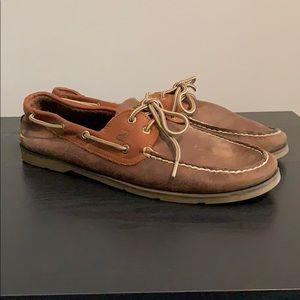 Men's Leather Sperry Boat shoe